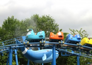 Octonauts rollercoaster at Alton Towers