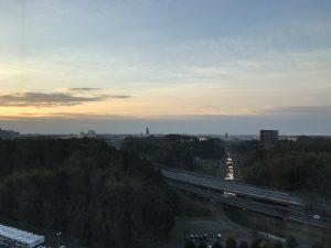 ANAクラウンプラザホテル成田 客室から成田空港方面